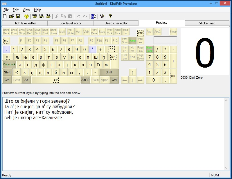 KbdEdit - The Best Keyboard Layout Editor For Windows 10, 8, 7
