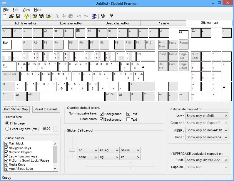 KbdEdit - The Best Keyboard Layout Editor For Windows 10, 8, 7