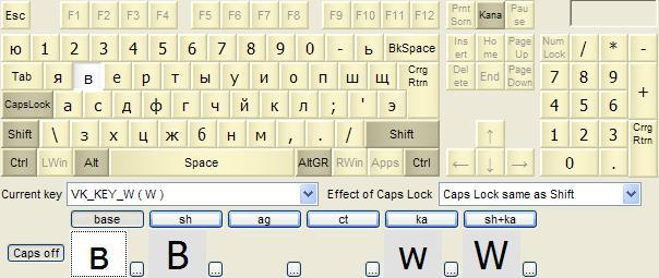 Multi-lingual Russian phonetic / US English keyboard